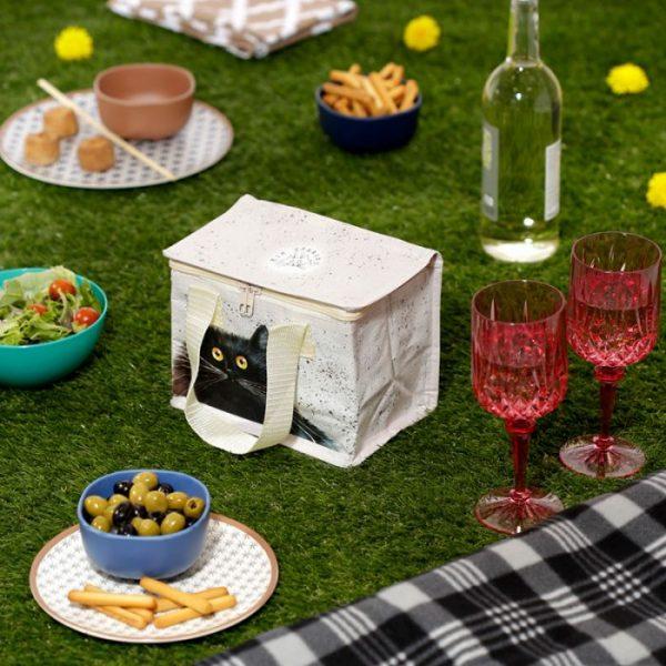 Izolační taška na svačinu - Kim Haskins Cat 3 - pro milovníky koček