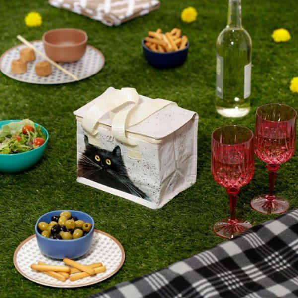 Izolační taška na svačinu - Kim Haskins Cat 4 - pro milovníky koček