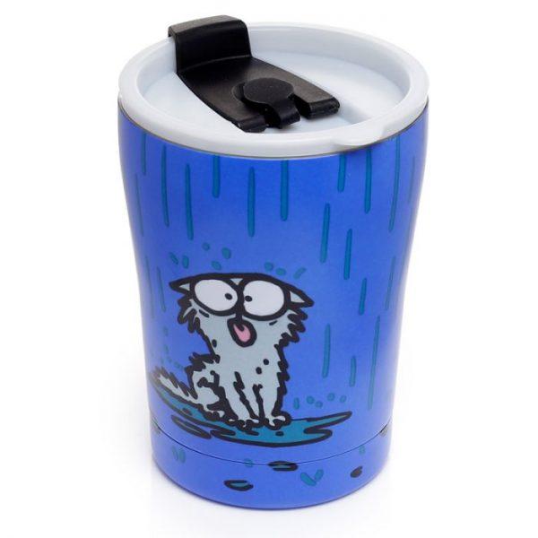Simon 's Cat opakovaně použitelná tepelně izolovaný šálek z nerezové oceli na teplé i studené, jídlo i pití 300ml 5 - pro milovníky koček