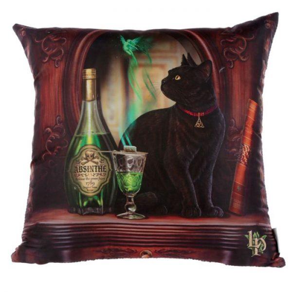 Lisa Parker Absinth a kočka Polštář 1 - pro milovníky koček