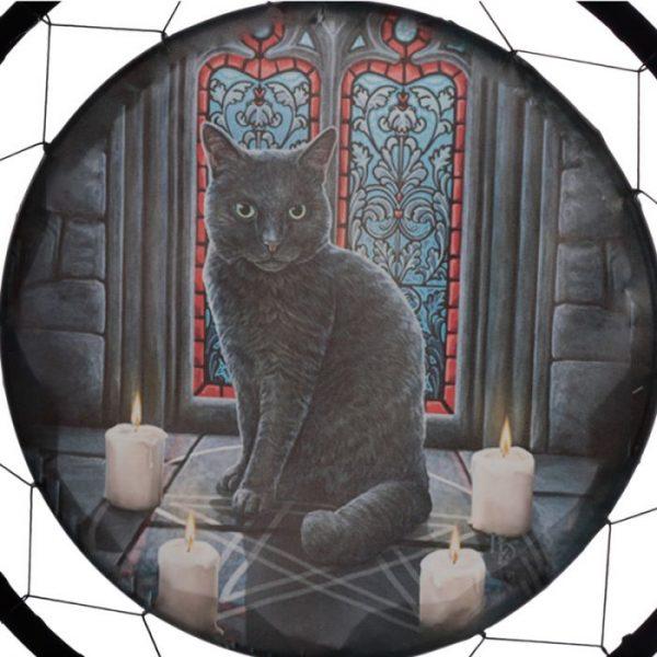 Lisa Parker Posvátný kruh s kočkou Lapač snů 60cm 3 - pro milovníky koček