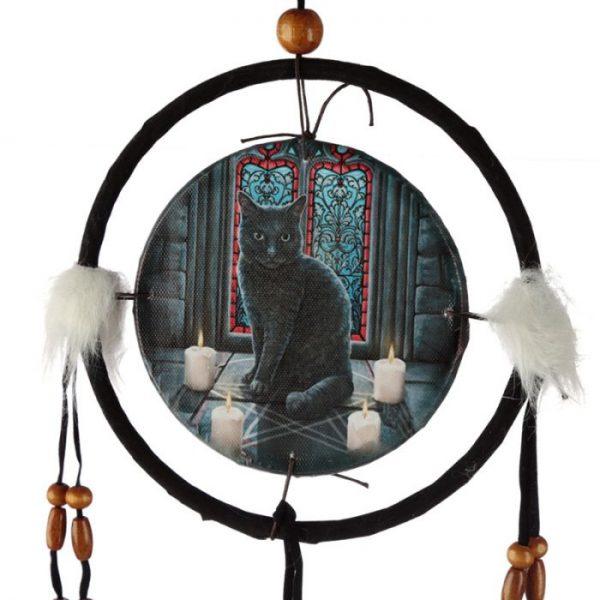 Lisa Parker Posvátný kruh s kočkou Lapač snů 16cm 3 - pro milovníky koček