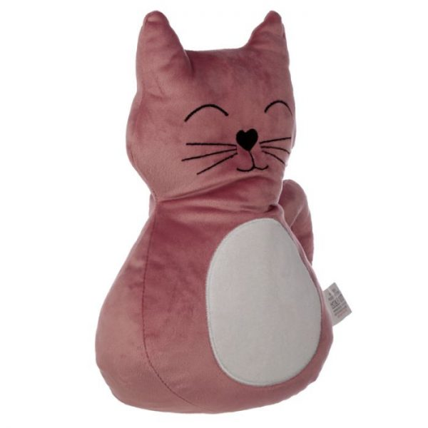 Pink Cat Zarážka do dvěří 3 - pro milovníky koček