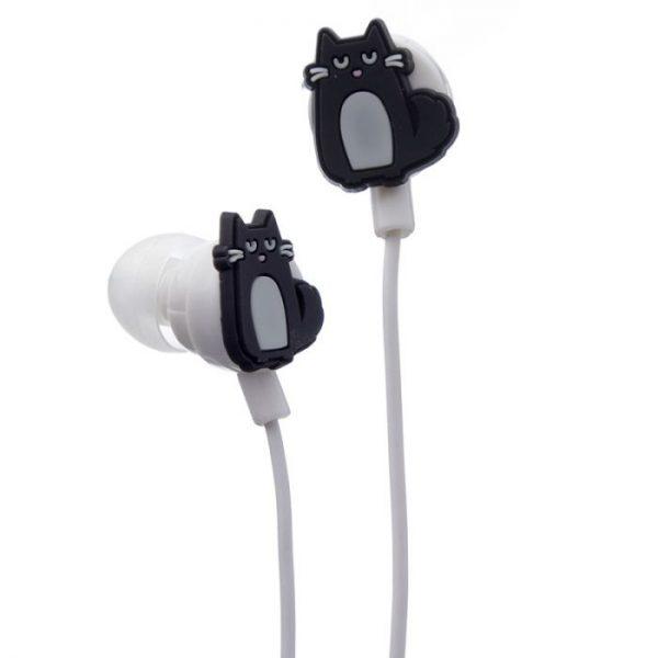 Kočka Feline Fine Shaped Novelty Sluchátka 4 - pro milovníky koček