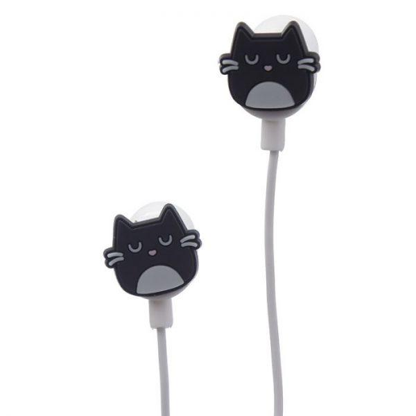 Kočka Feline Fine Shaped Novelty Sluchátka 7 - pro milovníky koček