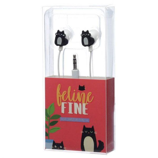 Kočka Feline Fine Shaped Novelty Sluchátka 2 - pro milovníky koček
