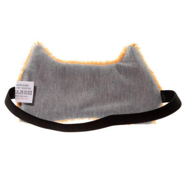 Maska na oči kočička Feline Fine hnědá 7 - pro milovníky koček