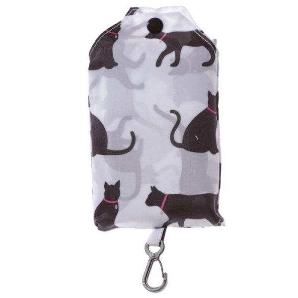 Skládací Nákupní taška - I Love My Cat & I Love My Dog 6 - pro milovníky koček
