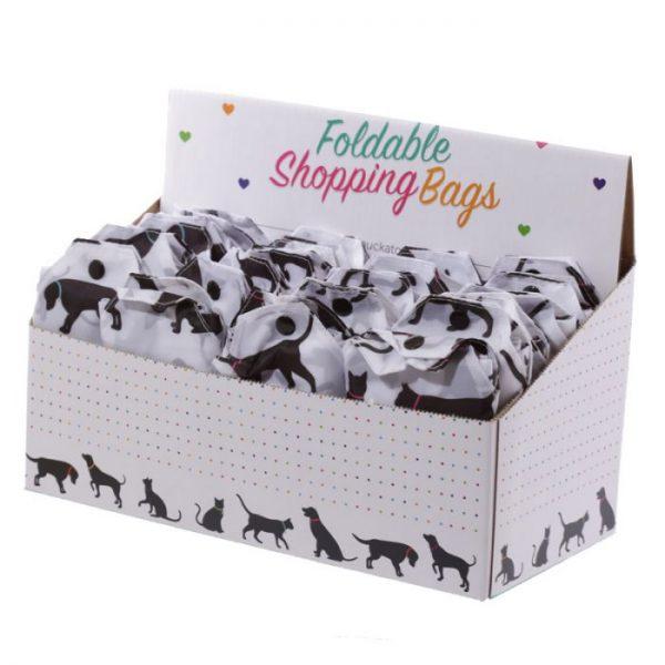 Skládací Nákupní taška - I Love My Cat & I Love My Dog 7 - pro milovníky koček