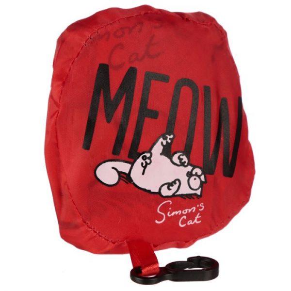 Skládací Nákupní taška - Simon's Cat MEOW Design 7 - pro milovníky koček