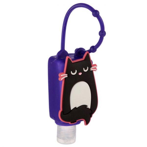 Gelová dezinfekce na ruce s kočkou Feline Fine Silicone Cover 7 - pro milovníky koček