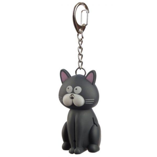 Kočičí LED mňaukající klíčenka 8 - pro milovníky koček