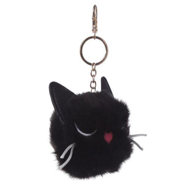 Kočka Feline Fine Pom Pom Klíčenka 4 - pro milovníky koček