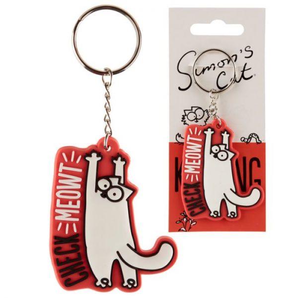 Simon's Cat PVC Klíčenka 1 - pro milovníky koček