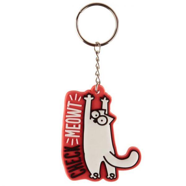 Simon's Cat PVC Klíčenka 2 - pro milovníky koček