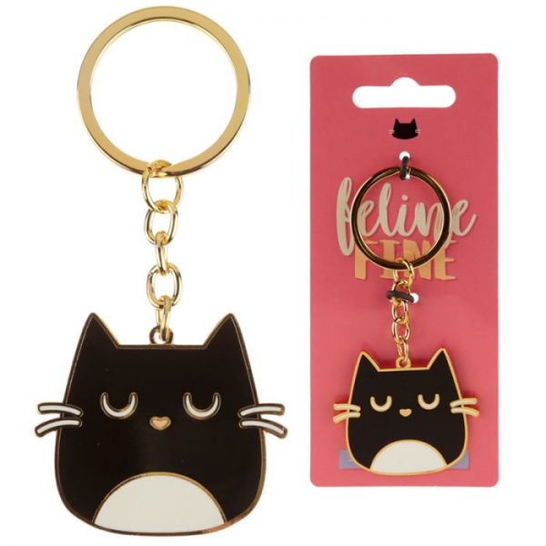 Kočka Feline Fine Design Klíčenka 1 - pro milovníky koček