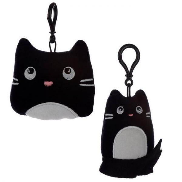 Klíčenka Kočka Feline Fine Squishy Plush 1 - pro milovníky koček