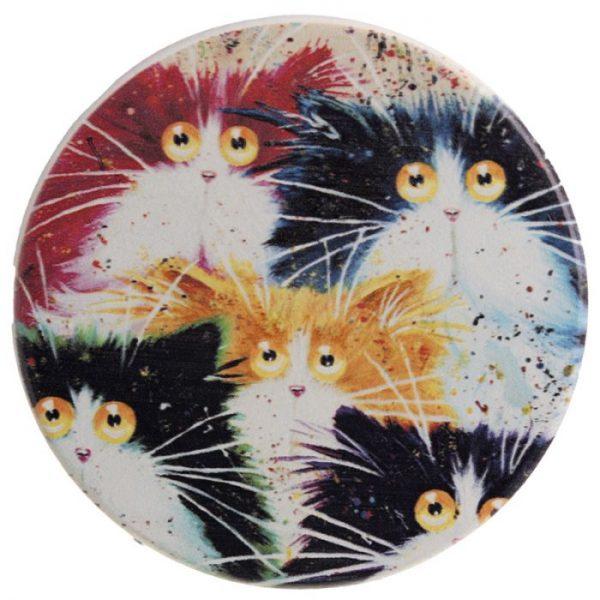 Kim Haskins Kočky Set 4 tácků 2 - pro milovníky koček
