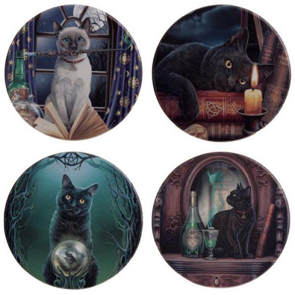 Lisa Parker Magické kočky Set 4 tácků 1 - pro milovníky koček