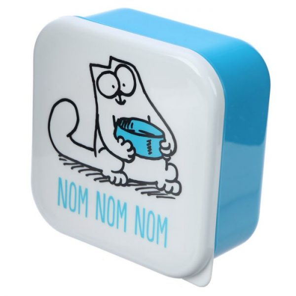 Set 3 krabiček na svačinu S/M/L - Simon's Cat 3 - pro milovníky koček