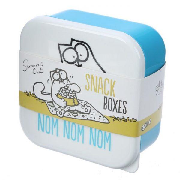 Set 3 krabiček na svačinu S/M/L - Simon's Cat 8 - pro milovníky koček
