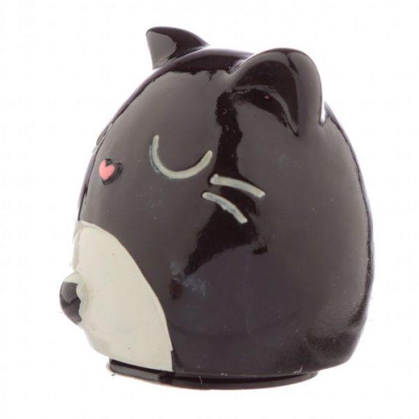 Feline Fine Cat Balzám na rty v držáku ve tvaru kočky - černý 4 - pro milovníky koček