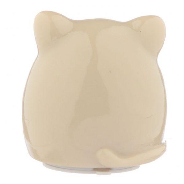 Feline Fine Cat Balzám na rty v držáku ve tvaru kočky - bílý 4 - pro milovníky koček