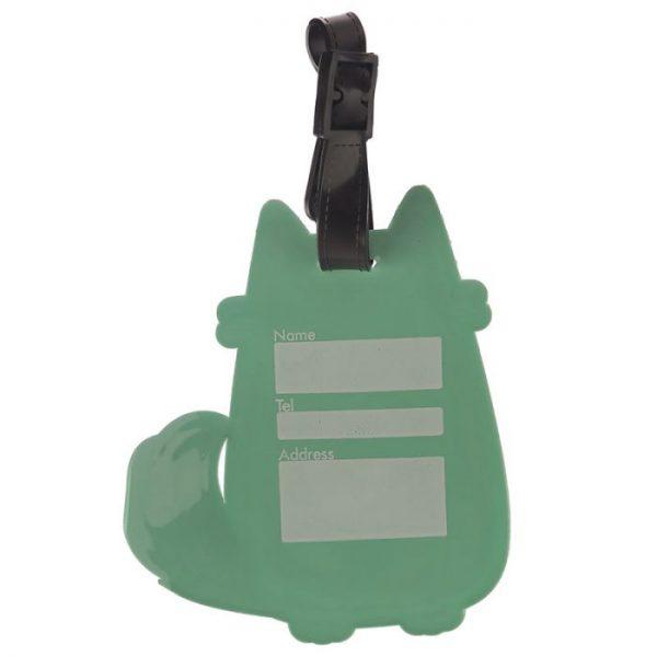 Kočka Feline Fine PVC Štítek na zavazadlo 4 - pro milovníky koček