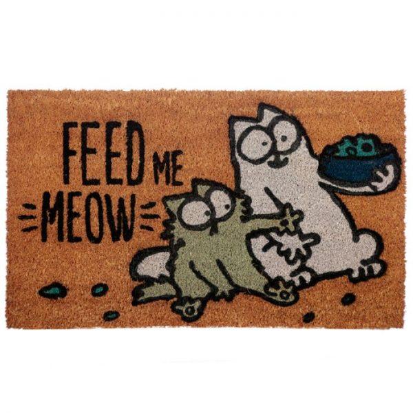 Feed Me Meow Simon's Cat Rohožka z kokosových vláken 1 - pro milovníky koček