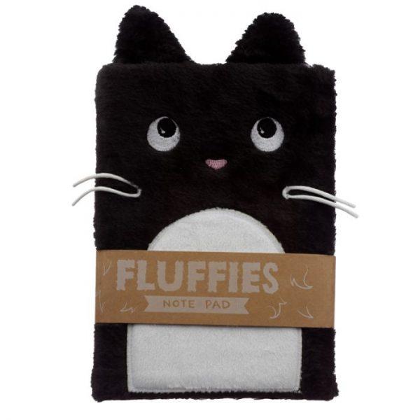 Kočka Feline Fine Plush Fluffies A5 notebook 1 - pro milovníky koček