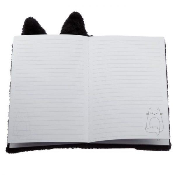 Kočka Feline Fine Plush Fluffies A5 notebook 3 - pro milovníky koček