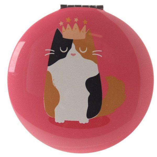 Kočka Feline Fine Kompaktní zrcátko 7 - pro milovníky koček