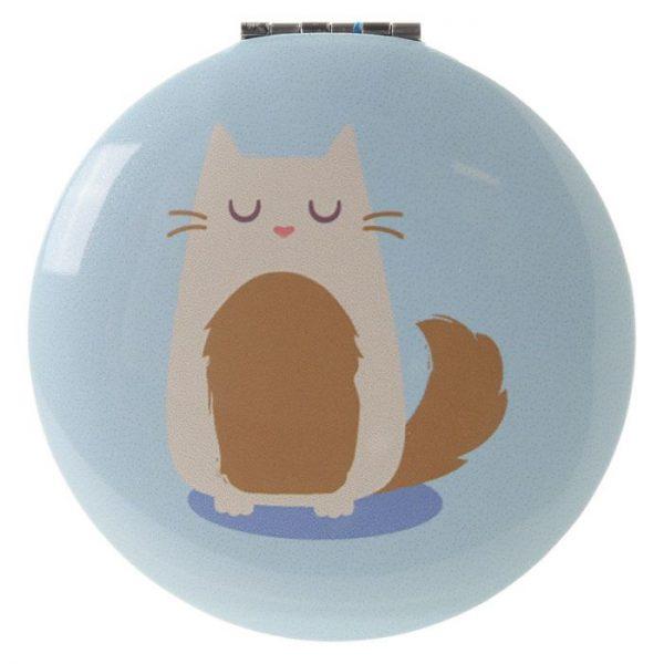 Kočka Feline Fine Kompaktní zrcátko 5 - pro milovníky koček
