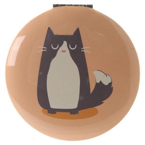 Kočka Feline Fine Kompaktní zrcátko 6 - pro milovníky koček