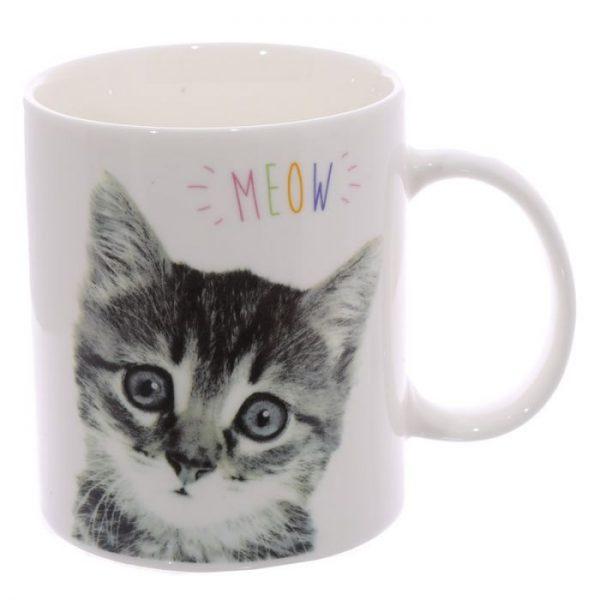 MEOW Cute Kitten Porcelánový hrníček 3 - pro milovníky koček
