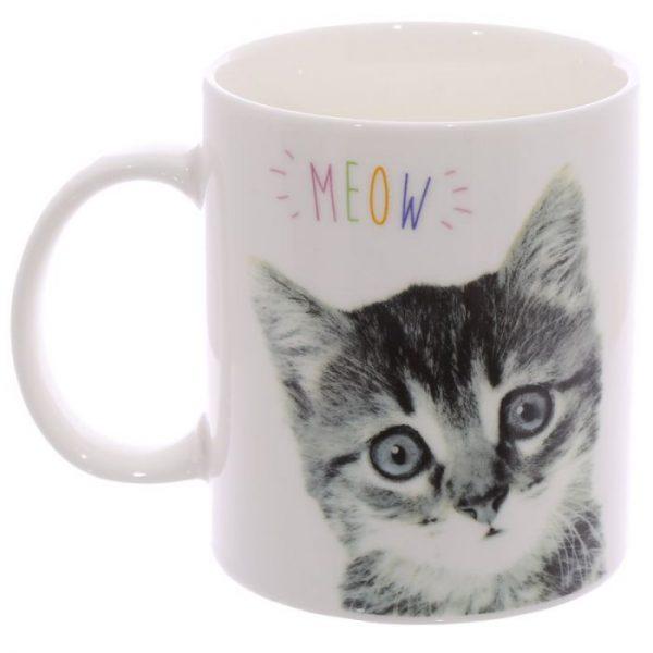 MEOW Cute Kitten Porcelánový hrníček 6 - pro milovníky koček