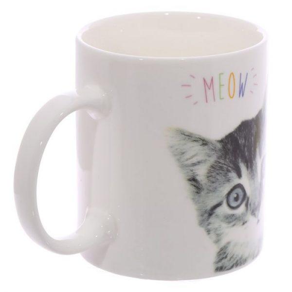 MEOW Cute Kitten Porcelánový hrníček 2 - pro milovníky koček
