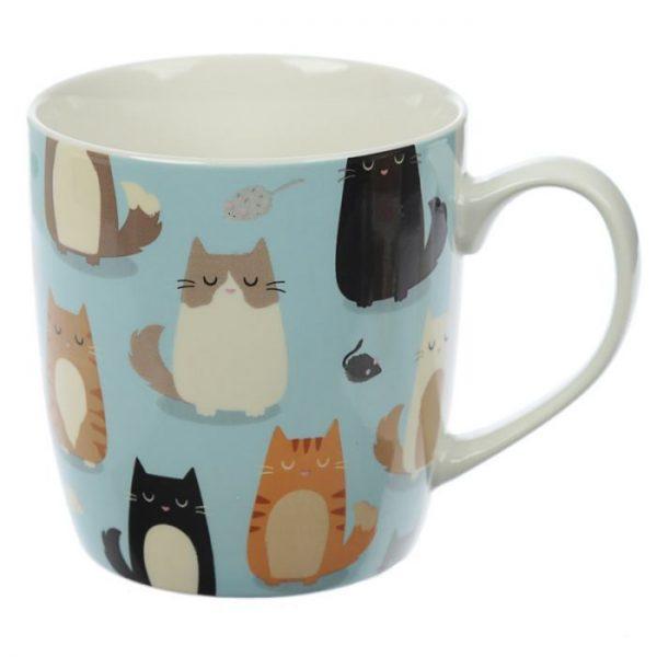Kočka Feline Fine Porcelánový hrníček 5 - pro milovníky koček