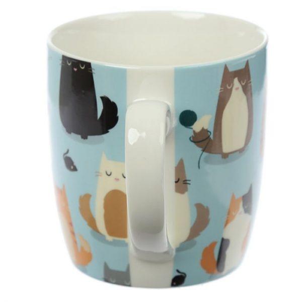 Kočka Feline Fine Porcelánový hrníček 3 - pro milovníky koček