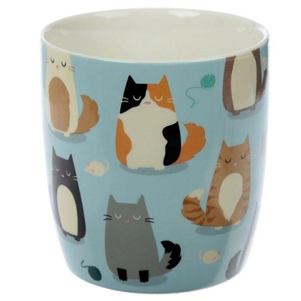 Kočka Feline Fine Porcelánový hrníček 6 - pro milovníky koček