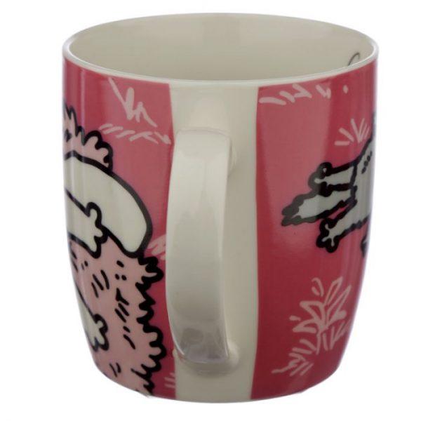 Růžový Simon's Cat Porcelánový hrníček 3 - pro milovníky koček