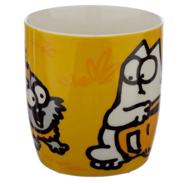 Oranžový Simon's Cat Porcelánový hrníček 3 - pro milovníky koček