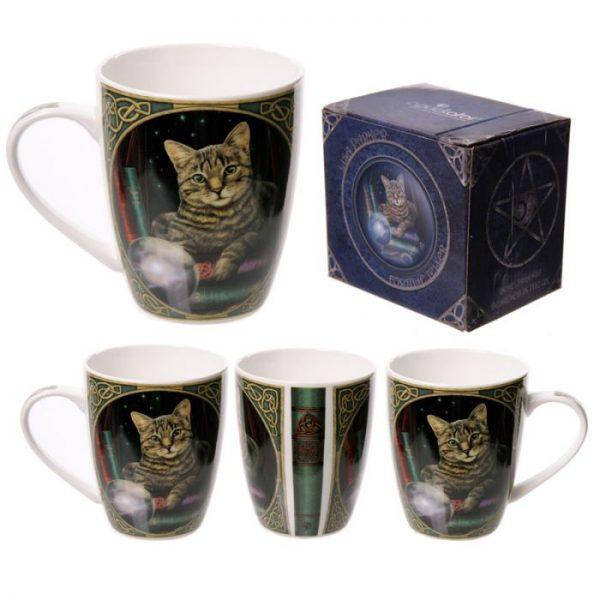 Lisa Parker Kočka médium Porcelánový hrníček 1 - pro milovníky koček
