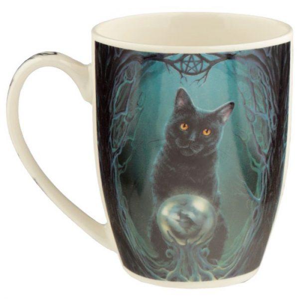 Lisa Parker Rise of the Witches Cat Porcelánový hrníček 6 - pro milovníky koček