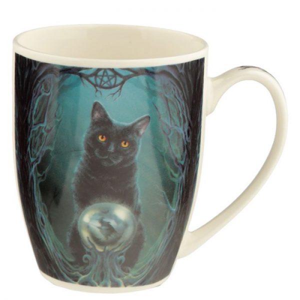 Lisa Parker Rise of the Witches Cat Porcelánový hrníček 2 - pro milovníky koček