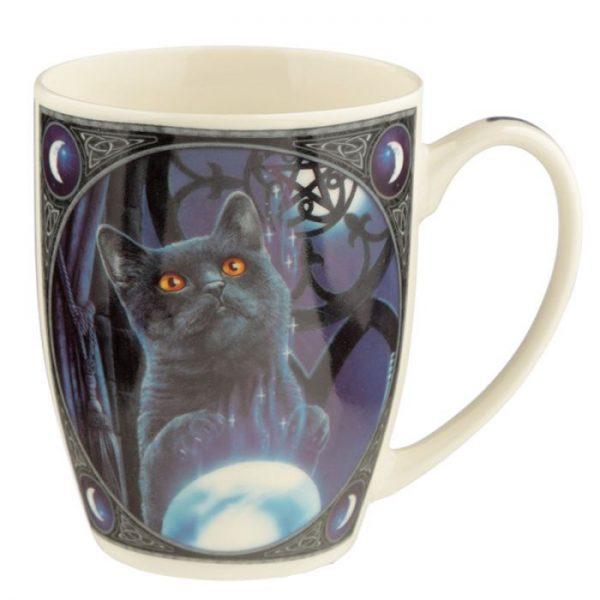 Porcelánový hrnek Čarodějnický učeň, design Lisa Parker 6 - pro milovníky koček