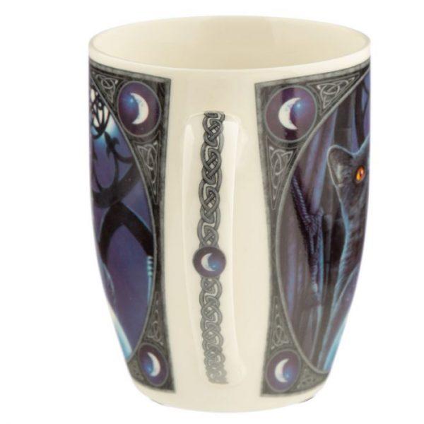 Porcelánový hrnek Čarodějnický učeň, design Lisa Parker 5 - pro milovníky koček