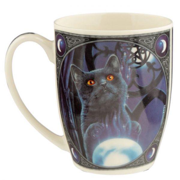 Porcelánový hrnek Čarodějnický učeň, design Lisa Parker 3 - pro milovníky koček