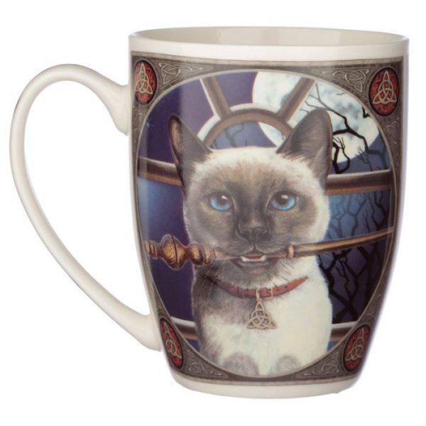 Lisa Parker kočka Hocus Pocus Porcelánový hrníček 2 - pro milovníky koček