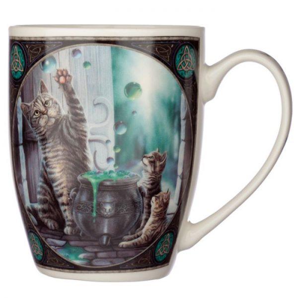 Lisa Parker Hubble Bubble Kočka a koťata Porcelánový hrníček 4 - pro milovníky koček